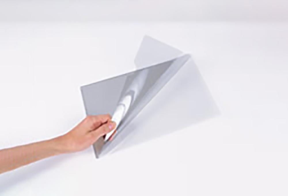 導電性クリアファイル「STクリーンファイル」