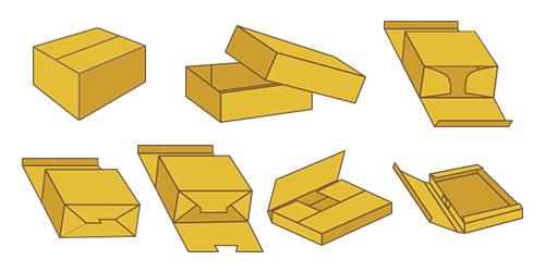 段ボールケースの形状